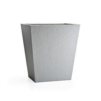 Labrazel Logan Silver Waste Basket