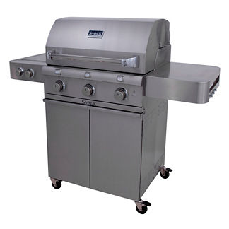 Saber 500 3-burner Gas Grill with Dual Side Burners