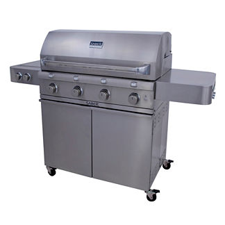 Saber 670 4-burner Gas Grill with Dual Side Burner