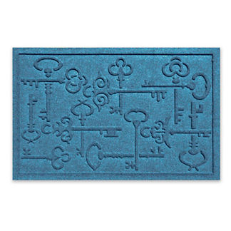 WATER & DIRT SHIELD ™ Keys To the City Mat