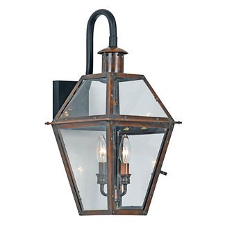 Heritage Wall Lantern with Top Arch