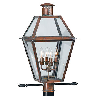 Heritage Post Mount Lamp