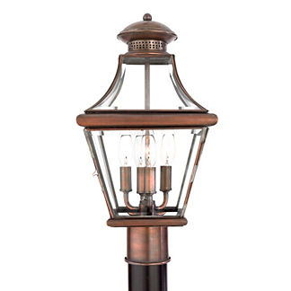 Carlisle Post Mount Lamp