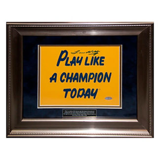 Play Like a Champion Notre Dame Print