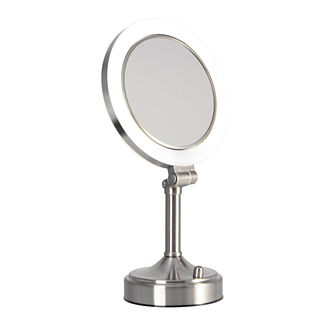 Pivoting Pedestal Mirror