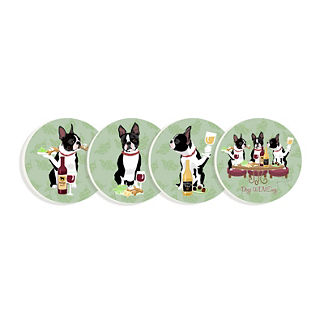 Dogs WINEing Coasters