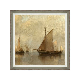 Grand Vessels Coastal Wall Art