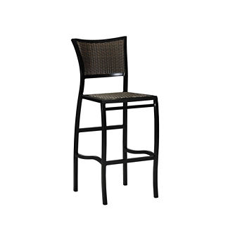 Aire Bar Stool with Cushion by Summer Classics