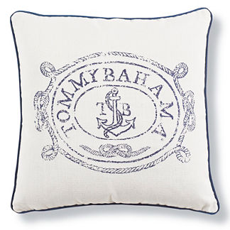 Tommy Bahama Anchors Away Designer Outdoor Pillow