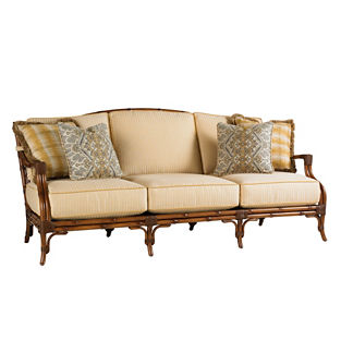 Tommy Bahama Island Estate Veranda Sofa with Pillows