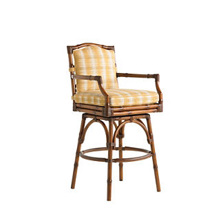 Tommy Bahama Island Estate Veranda Swivel Bar Stool