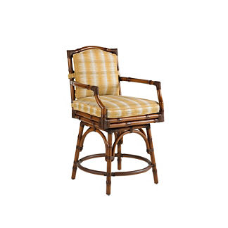 Tommy Bahama Island Estate Veranda Swivel Counter Stool
