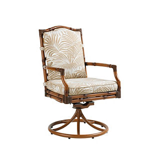 Tommy Bahama Island Estate Veranda Swivel Rocker Dining Chair