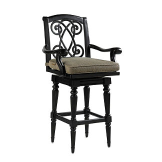 Tommy Bahama Kingstown Swivel Bar Stool