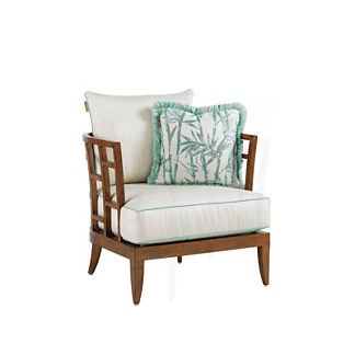 Tommy Bahama Ocean Club Resort Lounge Chair with Pillow