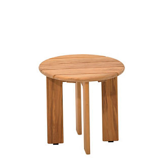 Adirondack Round Side Table
