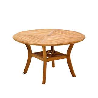 Halifax Round Teak Dining Table by Gloster