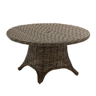 Havana Round Woven Dining Table
