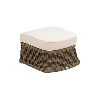 Havana Square Ottoman with Cushion