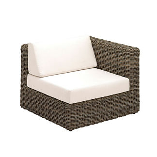 Havana Modular Left End Unit with Cushions