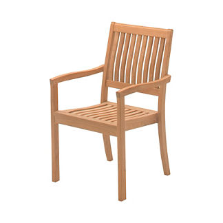 Kingston Stacking Chair with Arms