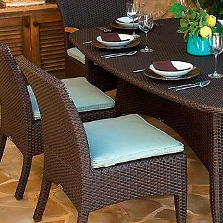Plantation Dining & Bar Chair Cushion