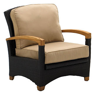 Plantation Reclining Arm Chair with Cushions