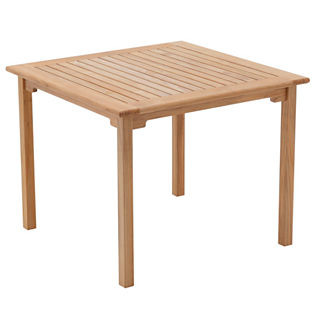 Richmond Square Teak Table by Gloster