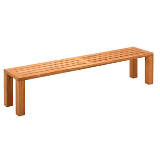 Square Backless Bench