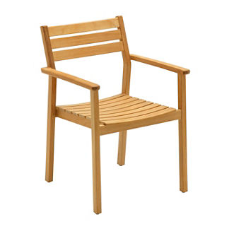 Rye Stacking Chair with Arms