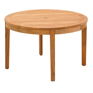 Teak Small Round Chat Table