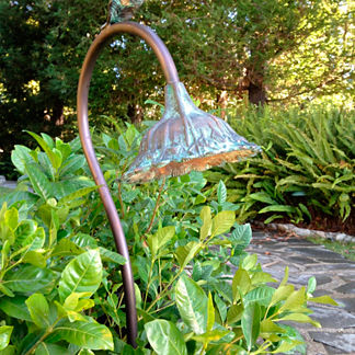 Bronze Sunflower Garden Pathlight