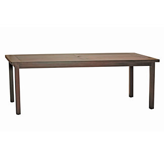 Rustic Club Rectangular Dining Table by Summer Classics