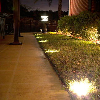 Solar Ground/Deck Lights