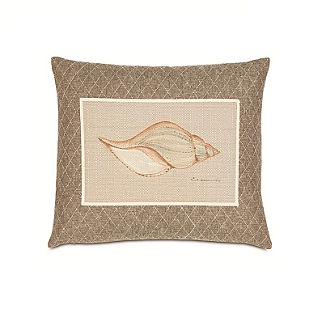 Hand-painted Shell Decorative Pillow