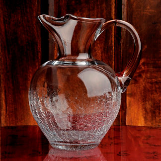 Crackle Pitcher