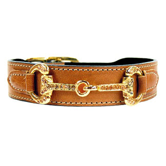 Hartman and Rose Horse & Hound Dog Collar