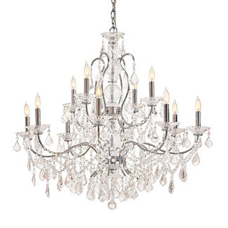 Contessa Vintage Crystal 12-Light Chandelier