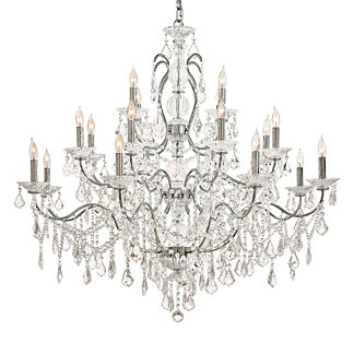 Contessa Vintage Crystal 20-Light Chandelier