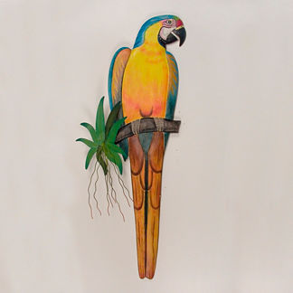 Blue Macaw Wall Art