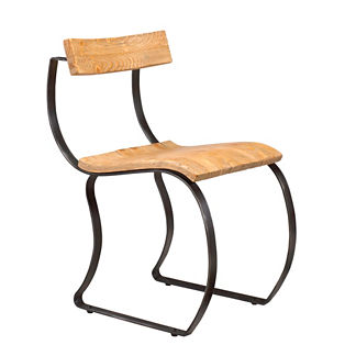 Emeric Curved Side Chair