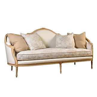 Cybil Wood Framed Sofa
