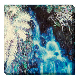Serenity Falls Outdoor Wall Art