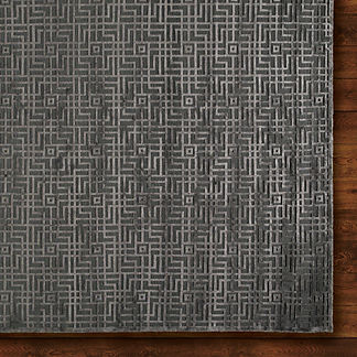 Tetris Knotted Rug