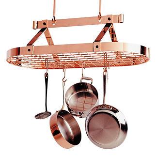 Enclume Copper Oval Pot Rack