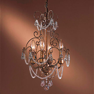 Regency 4-Light Mini Chandelier