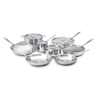 All-Clad 14- pc. Copper Core Cookware Set