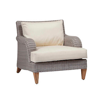 London Lounge Chair with Cushion by Summer Classics