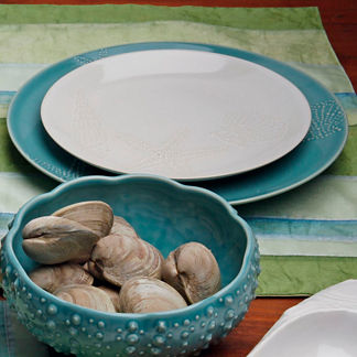 La Playa Set of Four Dinner Plates