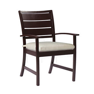 Charleston Arm Chair with Cushion by Summer Classics